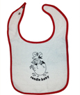Baby Bib W/Griffin Egg, 100% Cotton