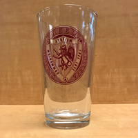 Pint Glass w/ Commie Seal