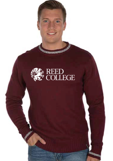 Sweater Crew Neck Embroidered Reed (SKU 1148034149)