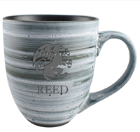 Ceramic Swirl Mug with Griffin