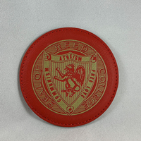 Commie Leatherette Coasters set/4