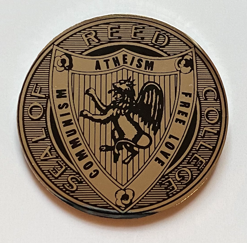 Commie Seal Pin 1.5 inches (SKU 1150299929)
