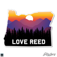 Oregon State Love Reed