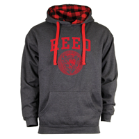 Benchmark Plaid Commie Hoodie