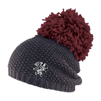 Beanie with XL Pompom