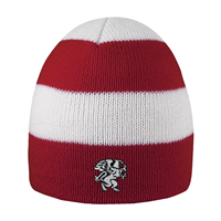 Knit Beanie Rugby Striped
