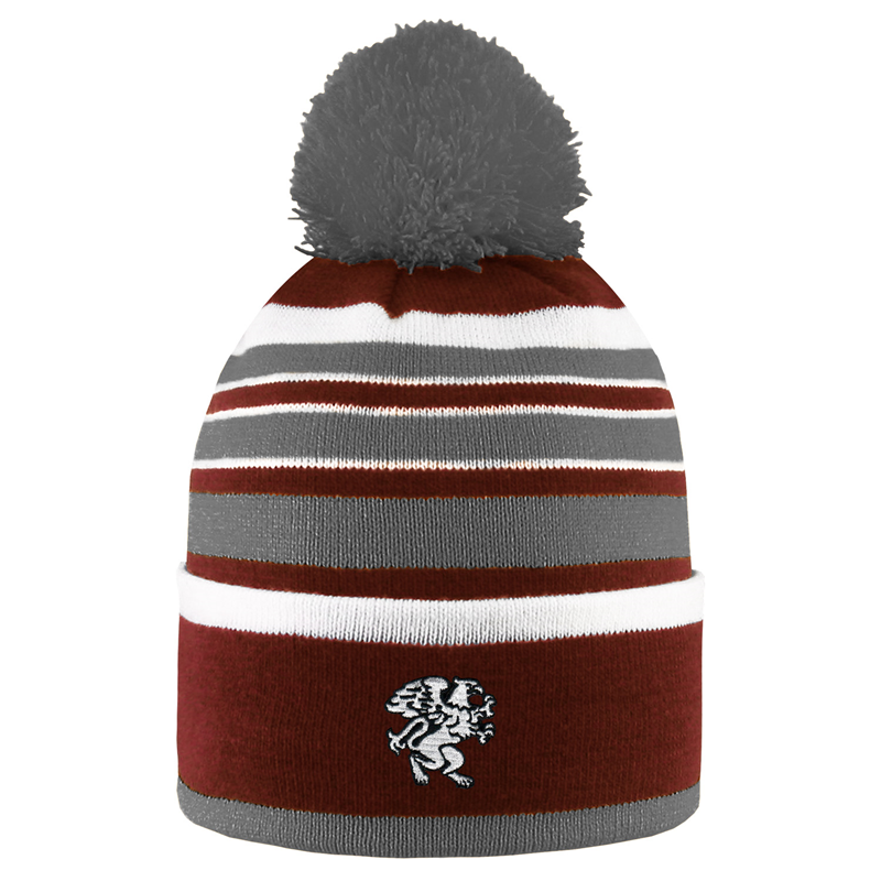 Striped Hat w/ Pompom (SKU 1138595055)