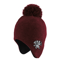 Toddler Hat Fleece w/ Pompom