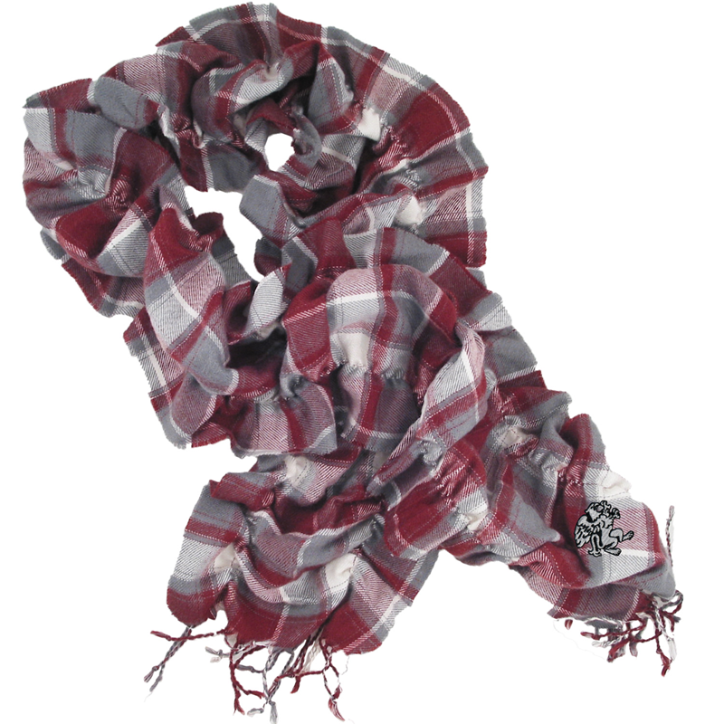 Scrunchy Plaid Scarf (SKU 1138600155)