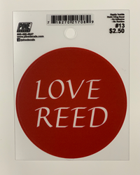 Love Reed Decal