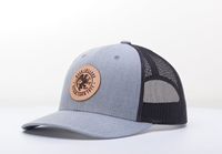 Low-Profile Trucker Cap with Leather Patch