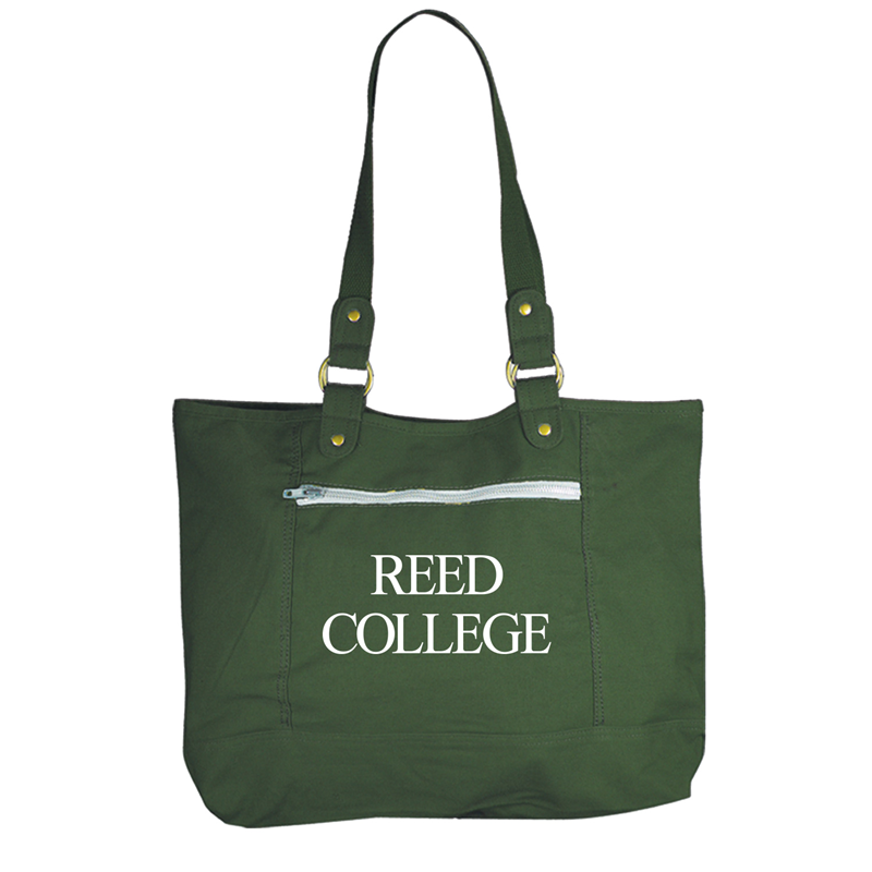Tote Sideline Reed College Forest Green (SKU 1146172271)