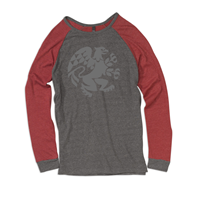 Baseball Tee Flocked Griffin