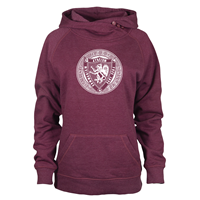 Asym Hoodie With Commie Seal