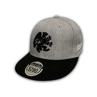 Snapback with 3D Embroidered Griffin