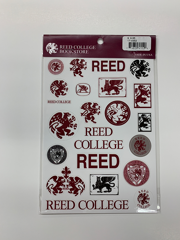 Reed Sticker Sheet (SKU 1137748117)
