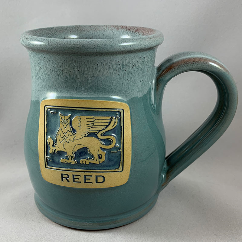 Tall Belly Mug with Woodcut Griffin (SKU 1141354718)