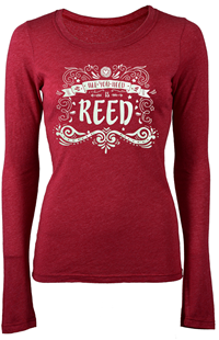 Long-Sleeved Tee All You Need Is Reed